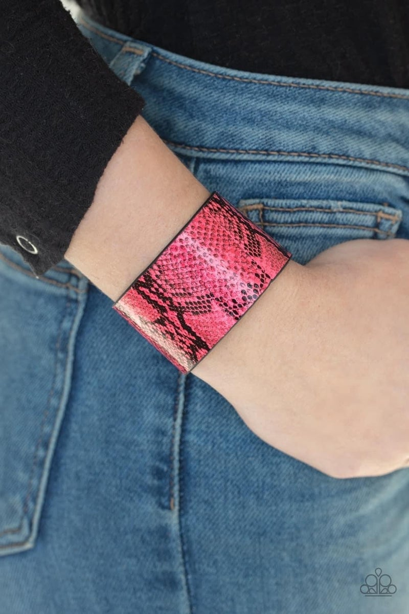 Its a Jungle Out There - Pink Snap Wrap