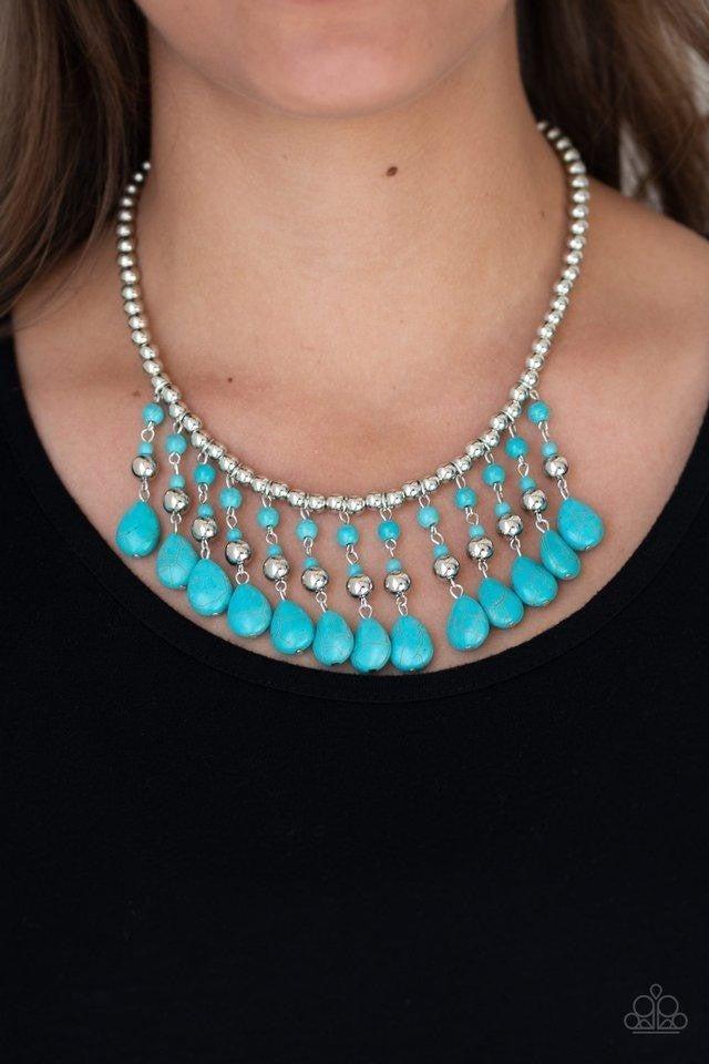 Rural Revival - Blue Necklace