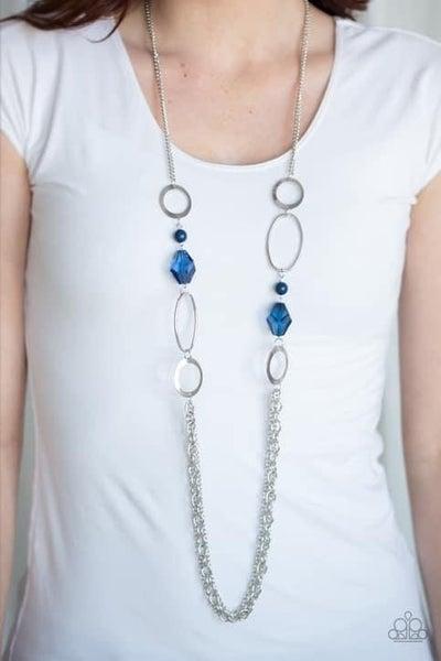 Jewel Jubilee - Blue Necklace
