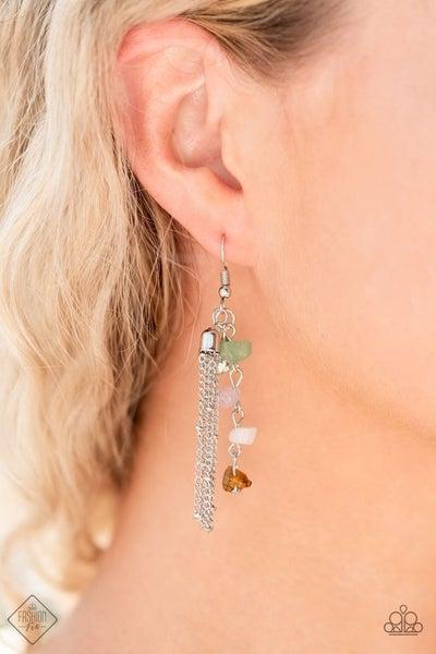 Stone Sensation - Multi Earrings - July 2021 Fashion Fix