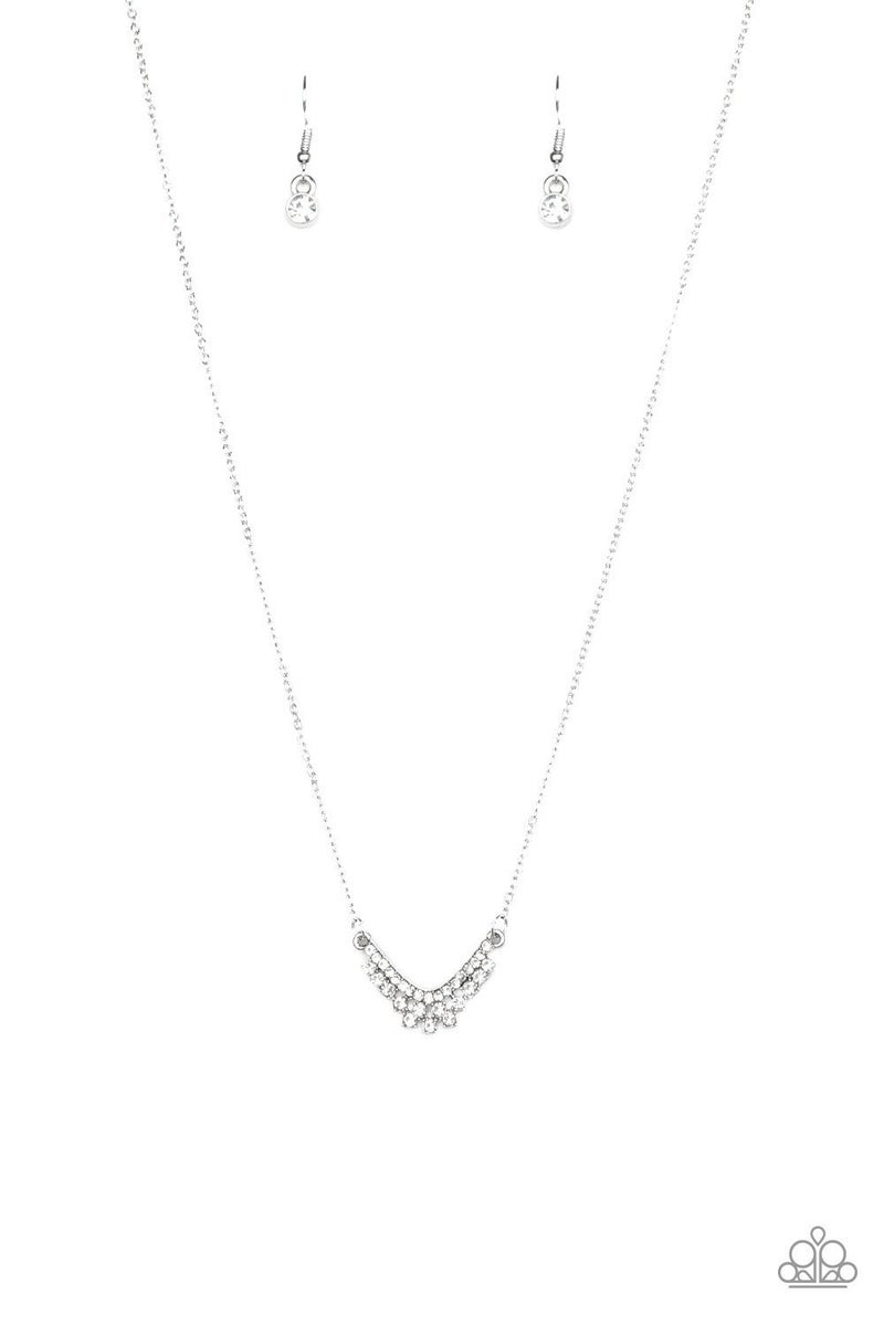 Classically Classic - White Necklace