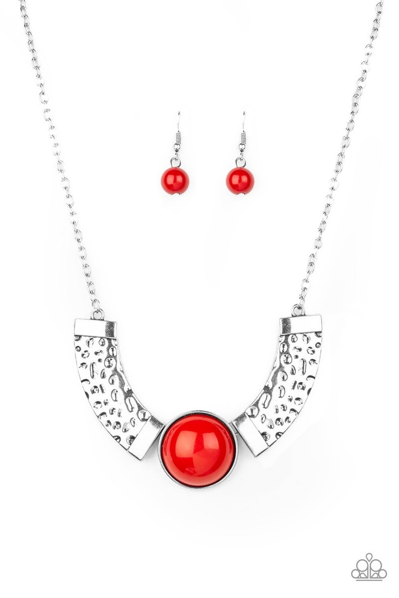 Egyptian Spell - Red Necklace