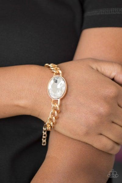 Luxury Lush - Gold Clasp Bracelet