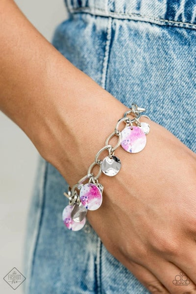 Teasingly Tie Dye - Multi Clasp Bracelet