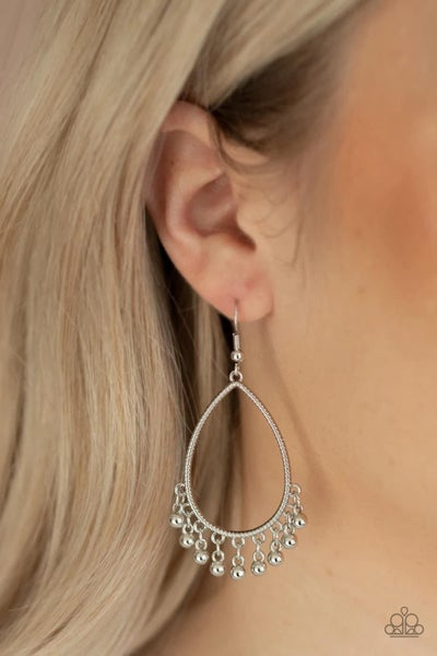 Country Charm - Silver Earrings