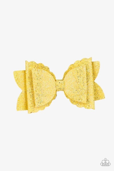 Sugar Rush - Yellow Hair Clip