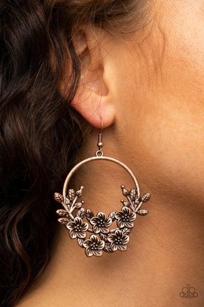 Eden Essence - Copper Earrings