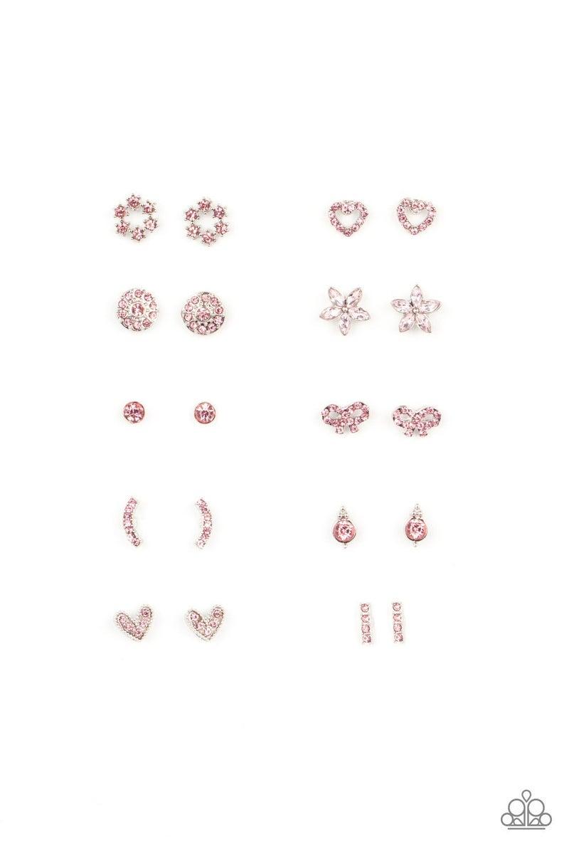 Starlet Shimmer Earrings - Pink