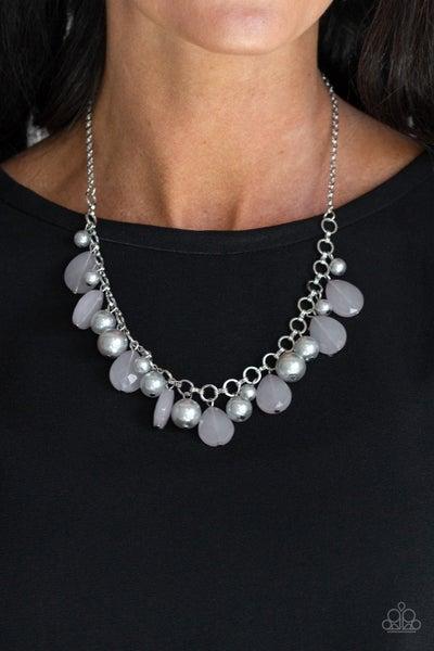 Pacific Posh - Silver Necklace