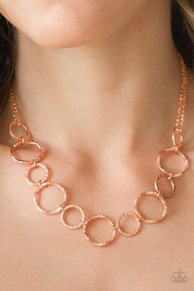 Circus Show - Copper Necklace