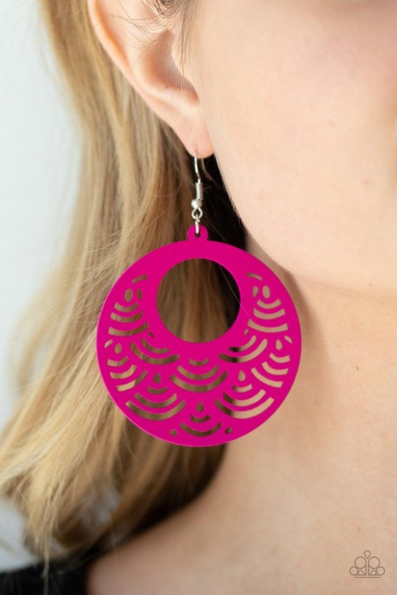SEA Le Vie! - Pink Earrings