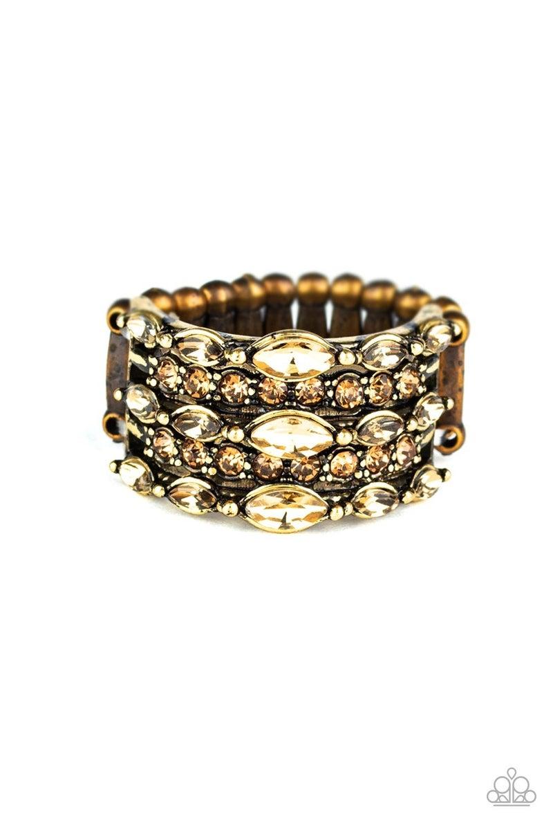 Diva Diadem - Brass Ring
