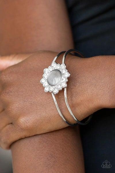 Palace Dream - Silver Hinged Bracelet