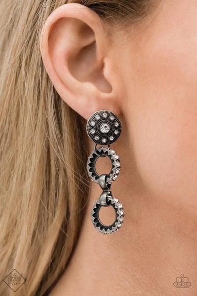High Tech - Silver Earrings