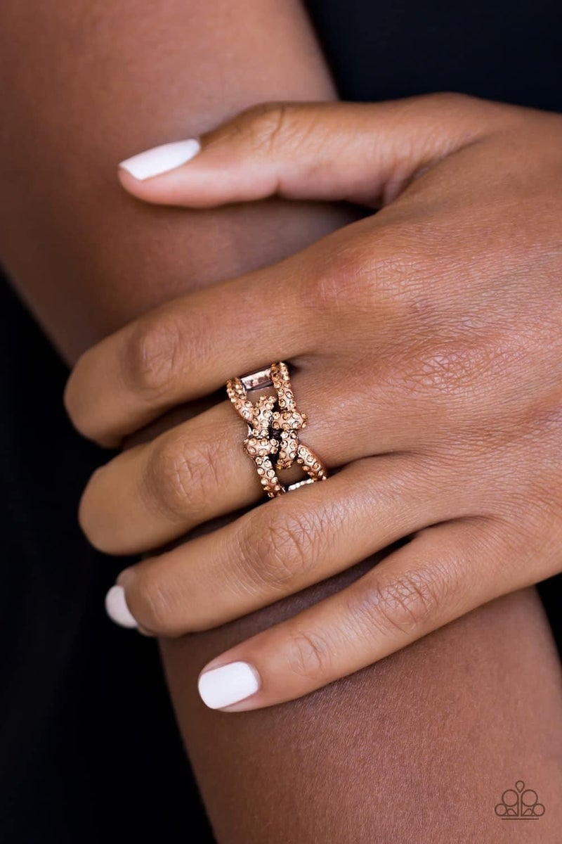 Can Only Go UPSCALE From Here - Copper Ring