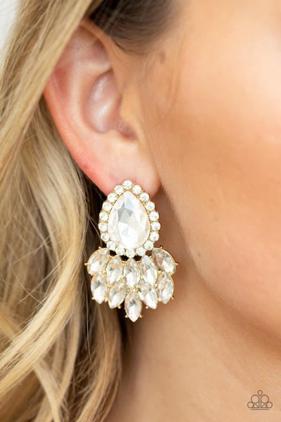 A Breath of Fresh HEIR - Gold Earrings
