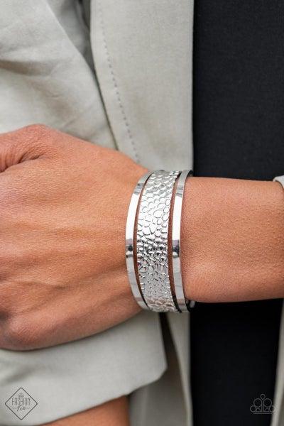 Jungle Jingle - Silver Cuff - February 2021 Fashion Fix