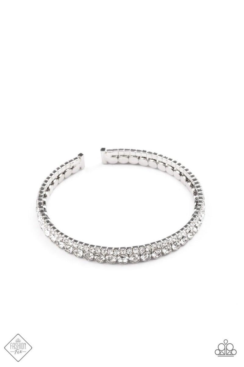 Fairytale Sparkle - White Cuff - May 2021 Fashion Fix