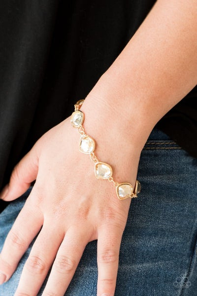 Perfect Imperfection - Gold Clasp Bracelet
