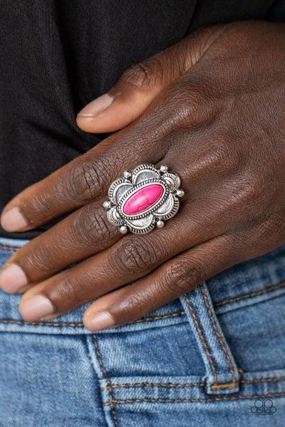 Sage Garden - Pink Ring