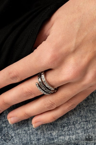 More To Go Around - Silver Ring - March 2021 Fashion Fix