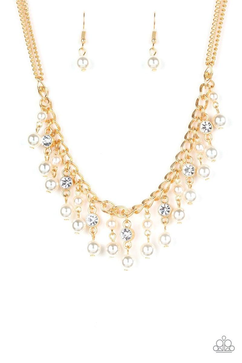 Regal Refinement - Gold Necklace