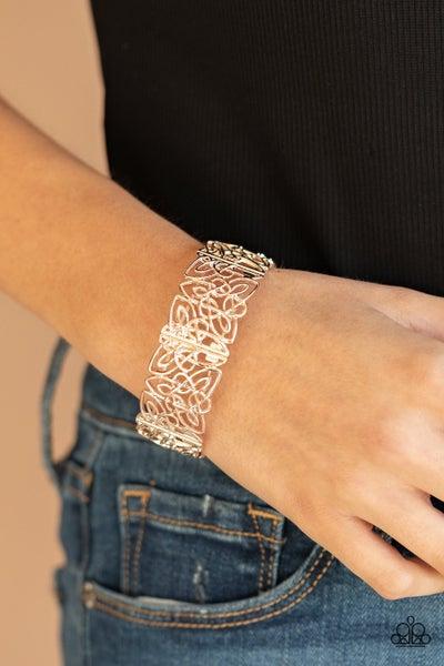 Namaste Gardens - Rose Gold Stretchy Bracelet