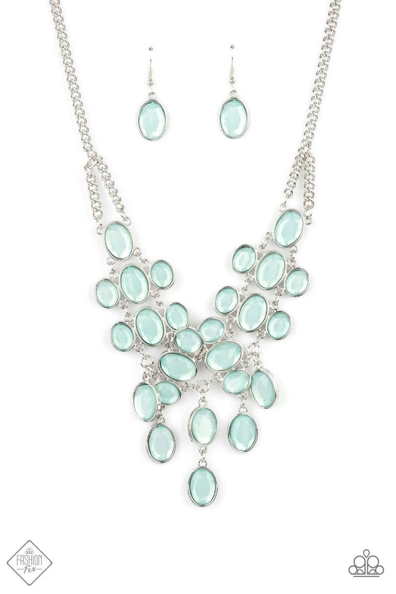 Serene Gleam - Blue Necklace - May 2021 Fashion Fix