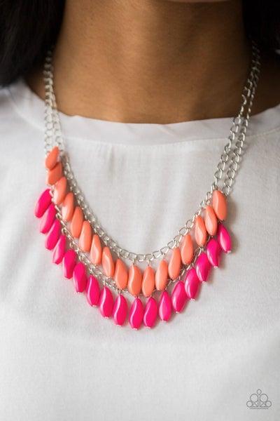 Beaded Boardwalk - Multi Necklace
