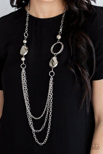 Rebels Have More Fun - Silver Necklace
