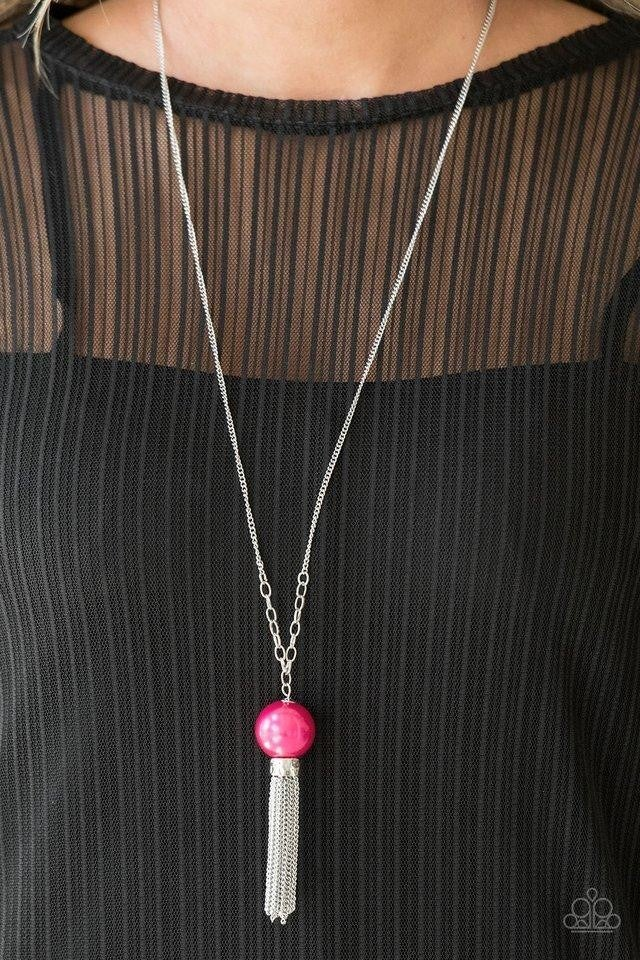 Belle of the BALLROOM - Pink Necklace