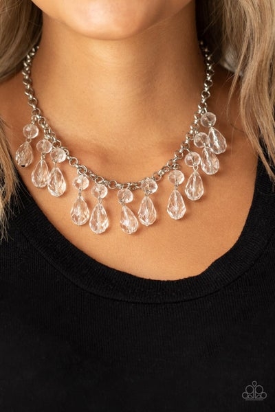 Crystal Enchantment - White Necklace