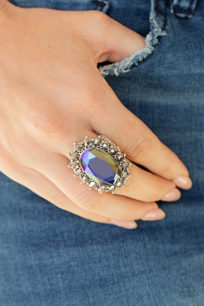 Bling Of All Bling - Blue Ring