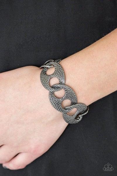 Casual Connoisseur - Gunmetal Clasp Bracelet