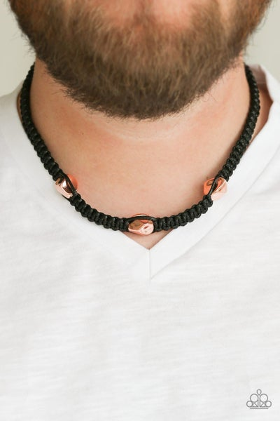RIDERS Block - Copper Urban Necklace