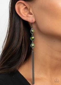 Moved to TIERS - Gunmetal Earrings