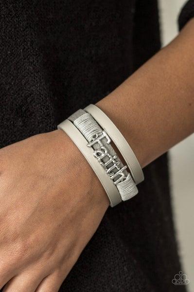 An Act Of Faith - Silver Clasp Bracelet