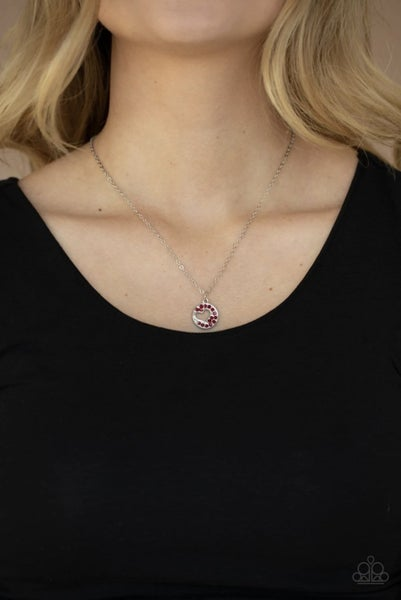 Bare Your Heart - Red Necklace