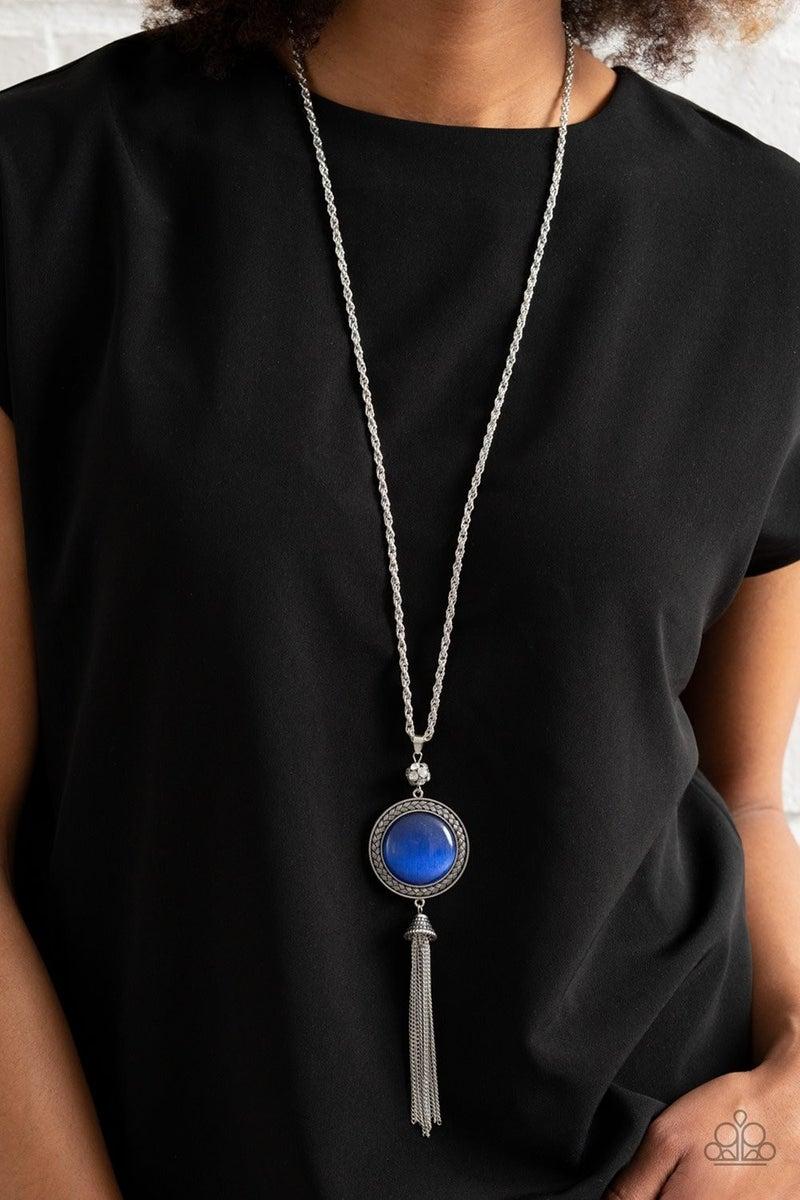 Serene Serendipity - Blue Necklace