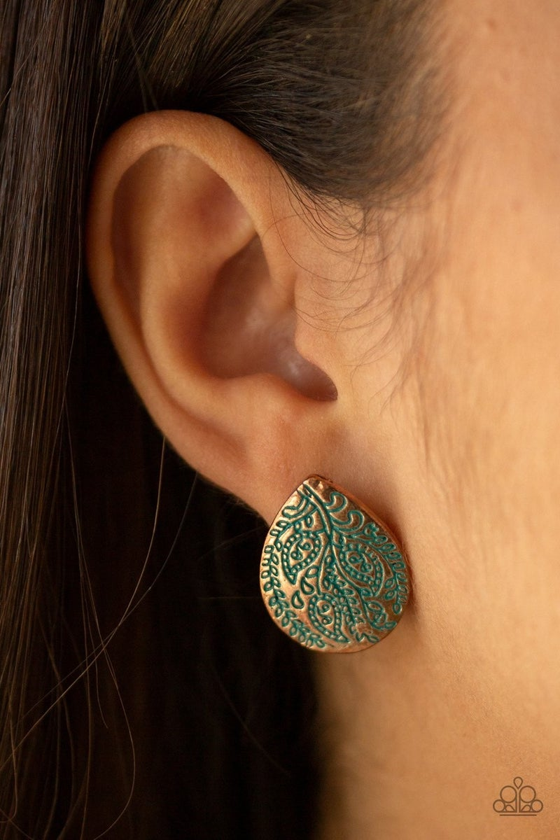 Seasonal Bliss - Copper Earrings