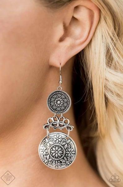Garden Adventure - Silver Earrings