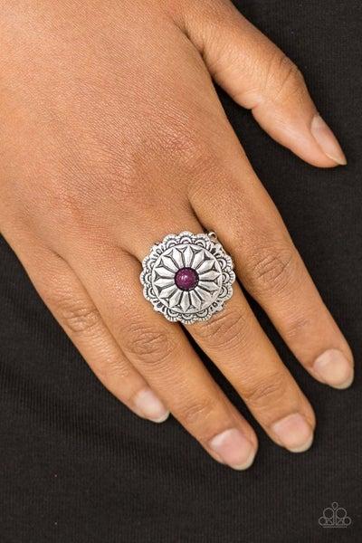 Daringly Daisy - Purple Ring