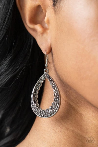 Royal Treatment - Silver Earrings