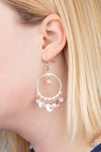 Bubbly Buoyancy - Pink Earrings