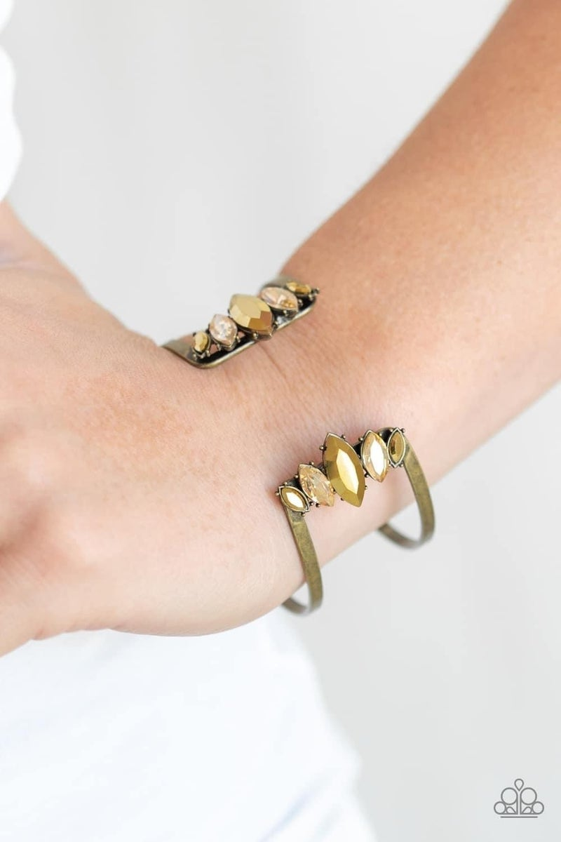 Glam Power - Brass Cuff