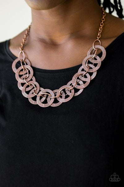 The Main Contender - Copper Necklace