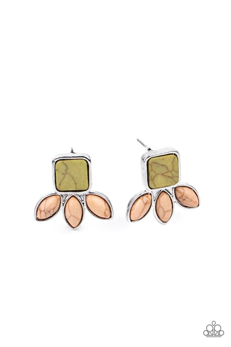 Hill Country Blossoms - Multi Earrings