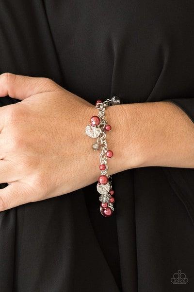 West Coast Wanderer - Red Clasp Bracelet
