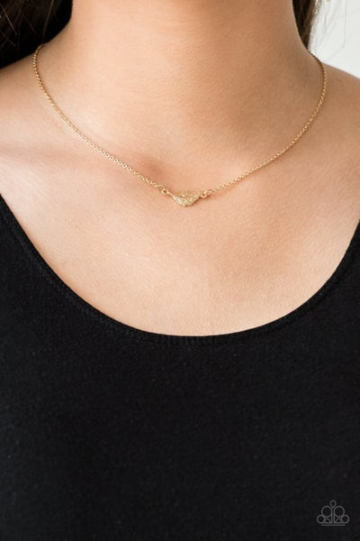 In-Flight Fashion - Gold Necklace
