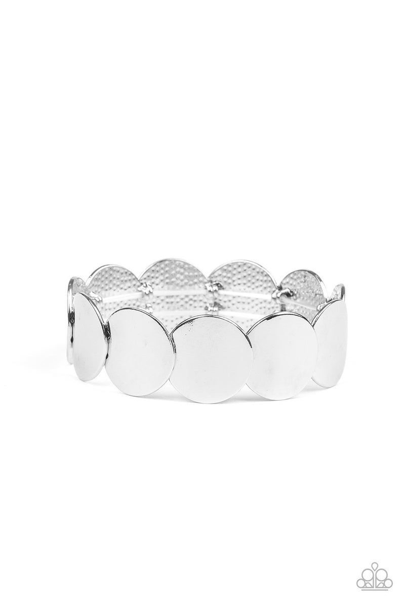 Industrial Influencer - Silver Stretchy Bracelet